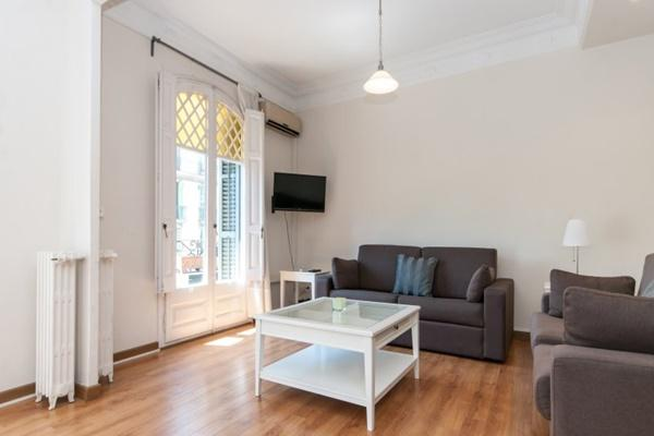 delightful sitting area in Barcelona - Paseo de Gracia 4BR luxury apartment
