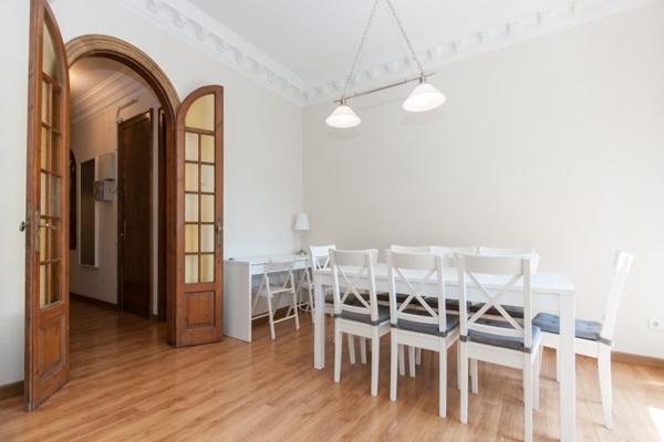 delightful dining area in Barcelona - Paseo de Gracia 4BR luxury apartment