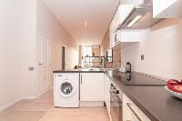 modern kitchen appliances in Barcelona - Contemporary Ramblas 2BR luxury apartment