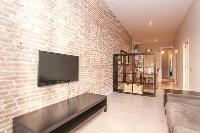 fully furnished Barcelona - Contemporary Ramblas 2BR luxury apartment