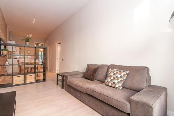 cool living room of Barcelona - Contemporary Ramblas 2BR luxury apartmentBarcelona - Contemporary Ra