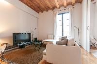 cool ceiling of Barcelona - Modern Ramblas 2BR luxury apartment