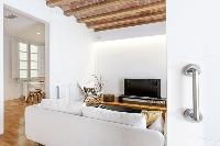 immaculate interiors of Barcelona - Modern Ramblas 2BR luxury apartment