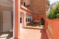 pretty balcony of Barcelona - Sant Antoni Market 3BR luxury apartment
