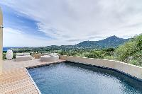 breathtaking view from Corsica - Villa Algajola luxury apartment