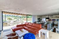 nice sitting area of Corsica - Villa Algajola luxury apartment