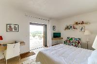pleasant bedroom of Corsica - Villa Algajola luxury apartment