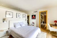 charming bedroom of Corsica - Villa Algajola luxury apartment