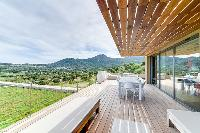 awesome lawn and surroundings of Corsica - Villa Algajola luxury apartment