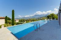 awesome swimming pool of Corsica - Citadelle luxury apartment
