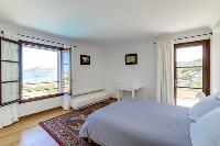 awesome view from a bedroom of Corsica - Citadelle luxury apartment