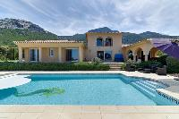 impressive architecture of Corsica - Revellata luxury apartment