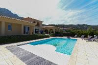 rejuvenating swimming pool of Corsica - Revellata luxury apartment