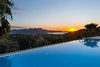 cool swimming pool of Corsica - Caldanu luxury apartment