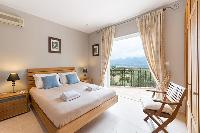 lovely bedroom of Corsica - Caldanu luxury apartment