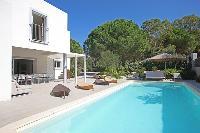 rejuvenating swimming pool of Corsica - Noceta luxury apartment