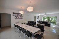 beautiful open-plan living room of Corsica - Noceta luxury apartment