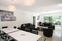 cool open living room in Corsica - Noceta luxury apartment