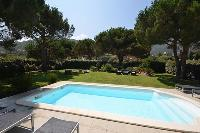 refreshing swimming pool of Corsica - Maggiore luxury apartment