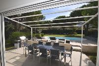 awesome poolside deck of Corsica - Maggiore luxury apartment