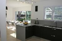 cool dining room and kitchen of Corsica - Maggiore luxury apartment