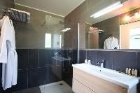 neat bathroom in Corsica - Lumia luxury apartment
