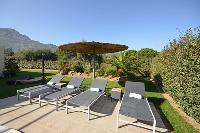 lush and lovely surroundings of Corsica - Lumia luxury apartment