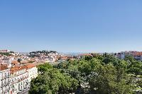 amazing view from the terrace of Lisbon - O Tejo luxury apartment and vacation rental