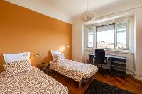 clean and fresh bedroom linens in Lisbon - O Tejo luxury apartment and vacation rental