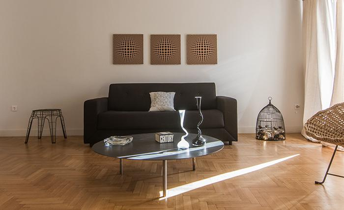 chic Athens Boutique B1 Grand Apartment luxury holiday home and vacation rental