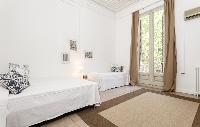 cool access to the balcony of Barcelona - Sant Pere Modernist I luxury apartment