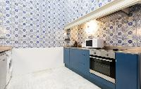 modern kitchen appliances in Barcelona - Sant Pere Modernist I luxury apartment