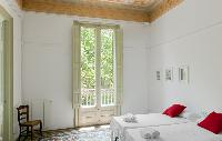 cool bedroom with balcony at Barcelona - Sant Pere Modernist I 2 luxury apartment