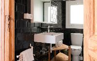neat bathroom interiors of Barcelona - Sant Pere Modernist 3 1 luxury apartment