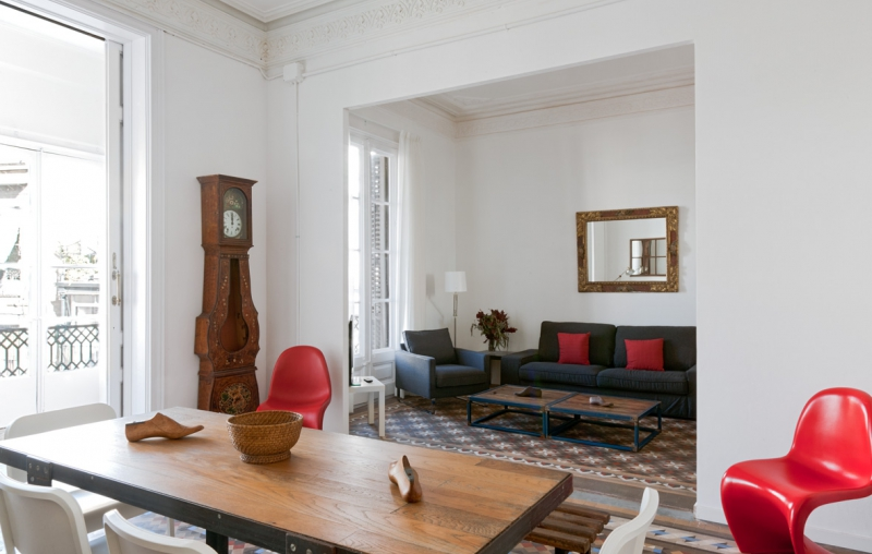 chic Barcelona - Sant Pere Modernist 3 2 luxury apartment and holiday home