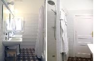 cool rain shower in Barcelona - Sant Pere Modernist 3 2 luxury apartment