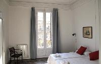 cool bedroom with balcony at Barcelona - Sant Pere Modernist 3 2 luxury apartment