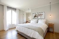 lovely bedroom of Cannes - Villa Le Pontiel luxury apartment