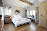 pleasant bedroom of Cannes - Villa Le Pontiel luxury apartment