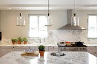 cool pendant lamps in Cannes - Villa Le Pontiel luxury apartment