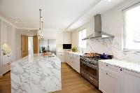 spacious, fully furnished kitchen of Cannes - Villa Le Pontiel luxury apartment