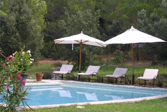 awesome swimming pool of Monaco - Fontvieille Villa luxury apartment