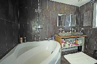 neat interiors of Saint-Tropez - Vue Sereine Villa luxury apartment