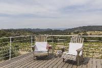 awesome deck of Saint-Tropez - Vue Sereine Villa luxury apartment