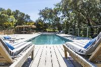 cool pool at Saint-Tropez - Vue Sereine Villa luxury apartment