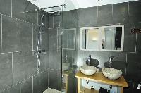 dashing bathroom interiors of Saint-Tropez - Vue Sereine Villa luxury apartment