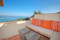 beautiful roof deck of Saint-Tropez - Palm View Villa luxury apartment