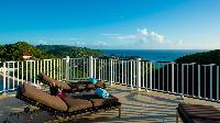 amazing sea view from Saint Barth Villa Angelo luxury holiday home, vacation rental