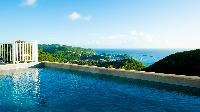 cool swimming pool of Saint Barth Villa Angelo luxury holiday home, vacation rental