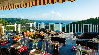awesome sea view from Saint Barth Villa Angelo luxury holiday home, vacation rental